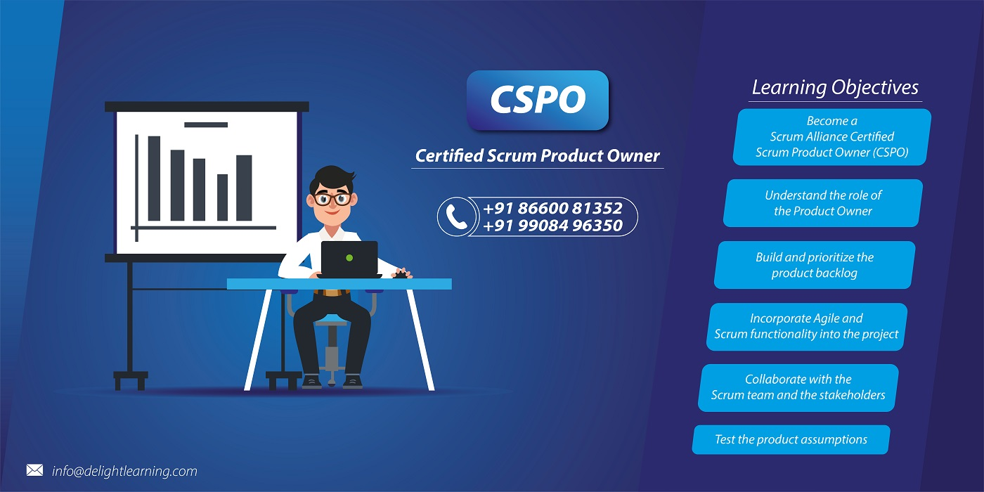 Certified Scrum Product Owner (CSPO) Certification in Gurgaon